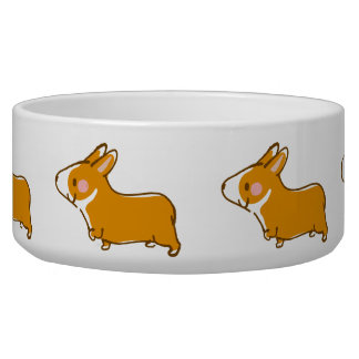 pembroke welsh corgi hand drawing, lead-lead and