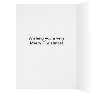 Pembroke Welsh Corgi Merry Christmas Card