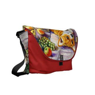 Pembroke Welsh Corgi Messenger Bag