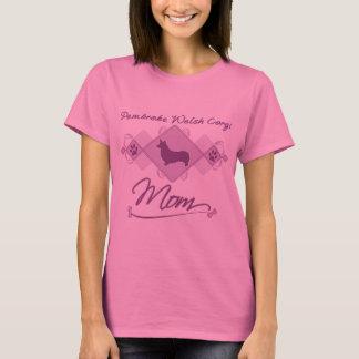 Pembroke Welsh Corgi Mom T-Shirt