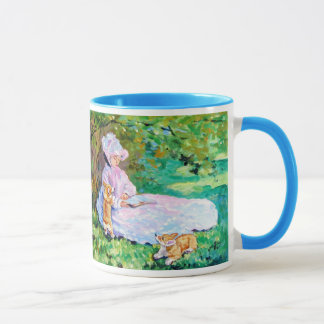 Pembroke Welsh Corgi Mug Monet