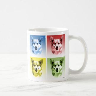 Pembroke Welsh Corgi Pop Art Coffee Mug