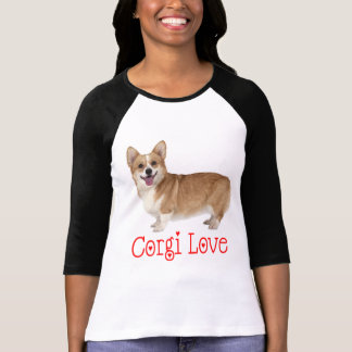 Pembroke Welsh Corgi Puppy Dog Red Corgi Love T-Shirt