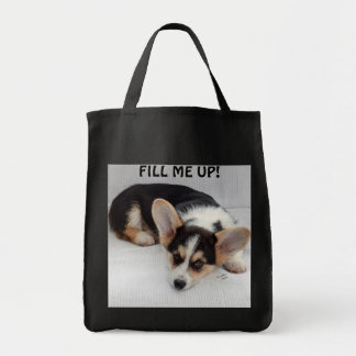 Pembroke Welsh Corgi Puppy On Your Grocery Bag