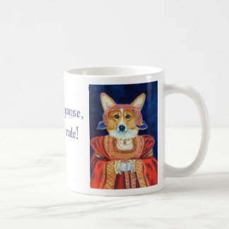 Pembroke Welsh Corgi Queen & King Mug