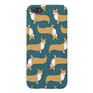 Pembroke Welsh Corgis Pattern iPhone 5 Cases