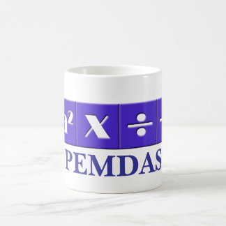 PEMDAS mathematical mug