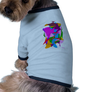 Pen and Black Ink Ringer Dog Shirt