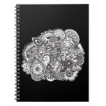 Pen and Ink art illustration cover notebook
