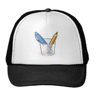 Pen and Pencil Set Mesh Hat
