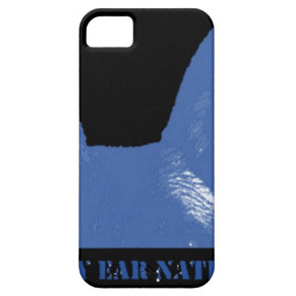 PEN Blue on black Barely There iPhone 5 Case