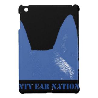 PEN Blue on black Cover For The iPad Mini