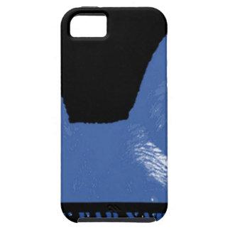 PEN Blue on black iPhone 5 Case