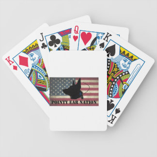 PEN Flag Bicycle Playing Cards