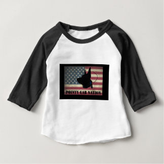 PEN Flag BlackBkg Baby T-Shirt