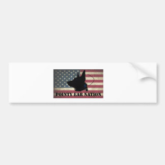 PEN Flag Bumper Sticker