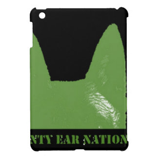 PEN Green on black Case For The iPad Mini