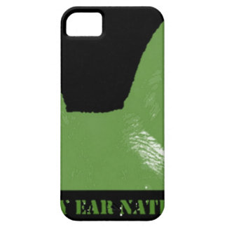 PEN Green on black Case For The iPhone 5