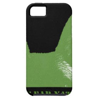 PEN Green on black Tough iPhone 5 Case