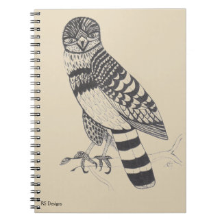 Pen & Ink Falcon Notebook