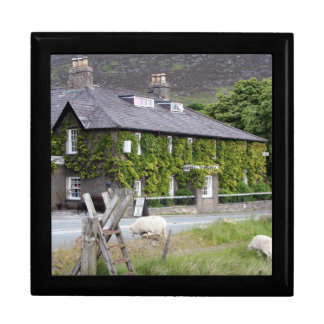 Pen-Y-Gwryd Hotel, Wales, United Kingdom Large Square Gift Box