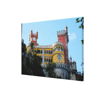 Pena Palace, Sintra, near Lisbon, Portugal Canvas Print