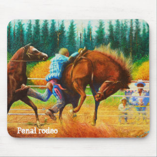 Penal rodeo. mouse pad