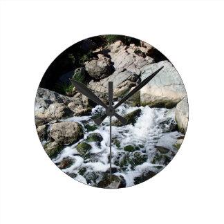 Penasquitos Waterfall Round Clock