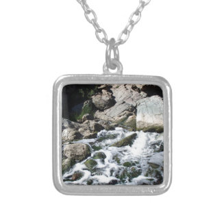Penasquitos Waterfall Silver Plated Necklace