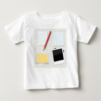 pencil and paper baby T-Shirt