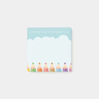 Pencil Cloud Post-it Notes