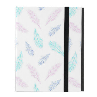 Pencil Feathers iPad 2/3/4 Case iPad Folio Cover