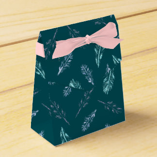 Pencil Feathers Tent Favor Box