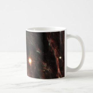 Pencil Nebula Remnants of Exploded Star NGC 2736 Basic White Mug