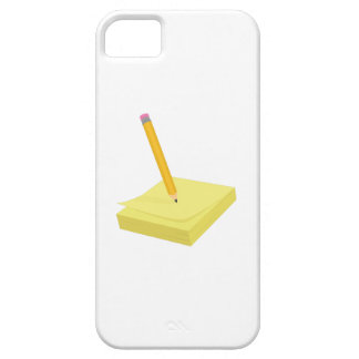 Pencil & Note iPhone 5 Cases