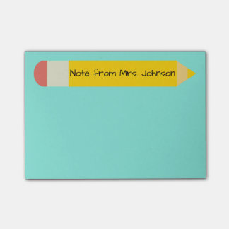 Pencil Note Post-it® Notes