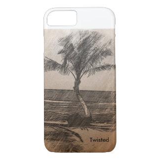 Pencil Palm Tree iPhone 7 Case