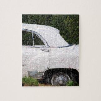 pencil white car puzzle