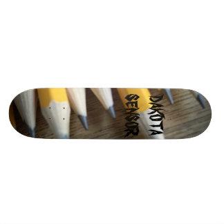pencils, DAKOTA SENSOR Custom Skate Board