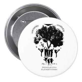 Pendleton Elementary School Memory Garden Button