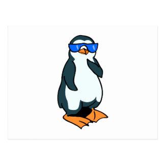 Penelope Penguin Postcard