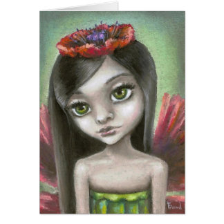 Penelope the poppy fae card