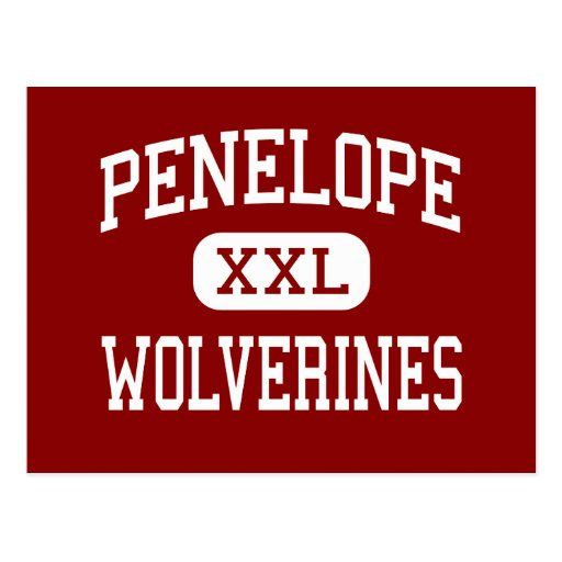 Penelope - Wolverines - High - Penelope Texas Post Cards