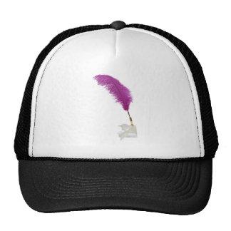 PenFeatheredFormal052010 Mesh Hats