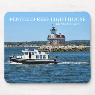 Penfield Reef Lighthouse, Connecticut Mousepad