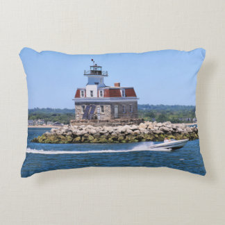 Penfield Reef Lighthouse, Connecticut Pillow