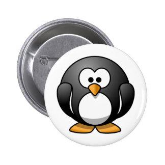Penguin 6 Cm Round Badge