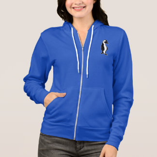 Penguin Accent Women's Bella Full Zip Hoodie