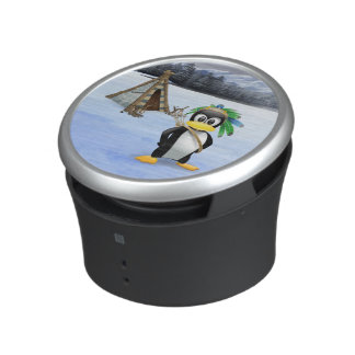 Penguin American Indian cartoon Speaker