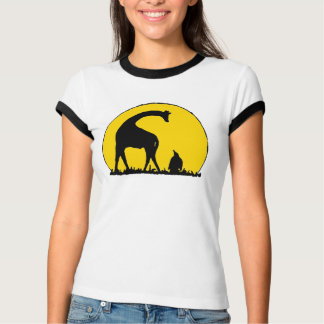 Penguin and Giraffe T-Shirt